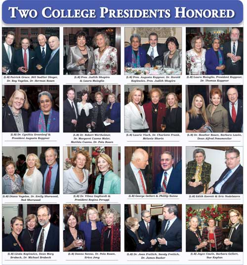Two College Presidents Honored