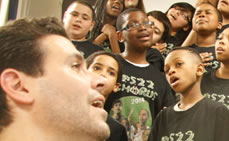 Elementary School Chorus in PS22, SI Performs at Academy Awards