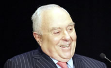 Joseph A. Califano, Jr. Sheds New Light on Lyndon B. Johnson at Hunter College