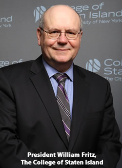 William J. Fritz, President, College of Staten Island