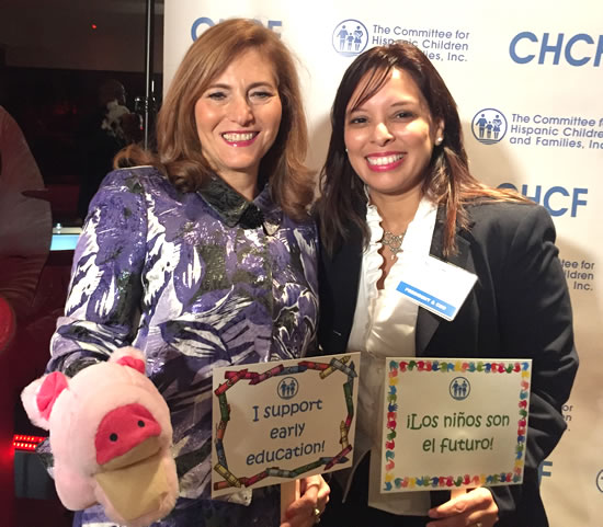(R-L) Hunter College President Jennifer Raab & Grace Bonilla, CEO
