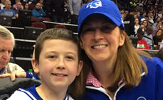 Seton Hall Men's Basketball Team Honors 13 year-old Will Cody