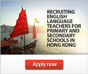 Hong Kong Teaching Positions